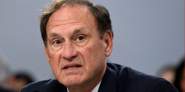 In this March 7, 2019, file photo, Supreme Court Justice Samuel Alito testifies before House Appropriations Committee on Capitol Hill in Washington. (AP Photo/Susan Walsh, File)