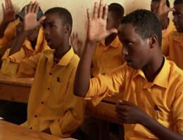Mogadishu Deaf School: 'After learning sign language, I understand everything'