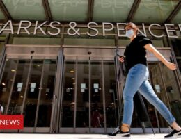 M&S suffers first loss in 94 years as clothing slumps