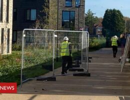 New lockdown: Manchester University fencing costing £11k removed