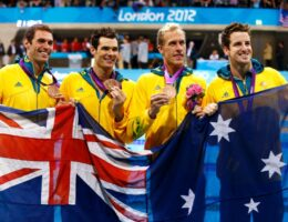 Olympic swimmer Brenton Rickard returns positive drug test from London Games