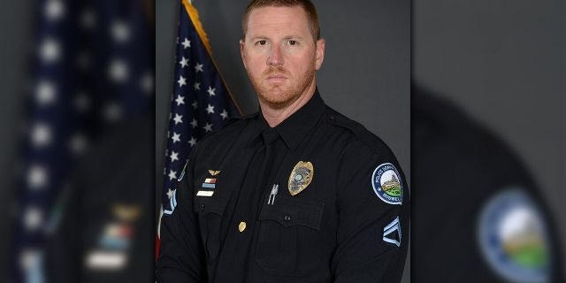 Roswell police officer Matthew Perry