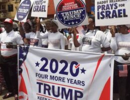 United States President, Donald Trump, Hails Members Of Anambra State-based Church For Staging Rally In His Honour
