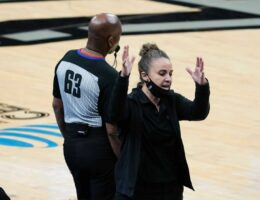 Becky Hammon takes charge of Spurs to become first woman to coach an NBA team