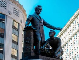 Boston Removes Statue of Lincoln That Celebrated Emancipating Slaves — Because He Was White