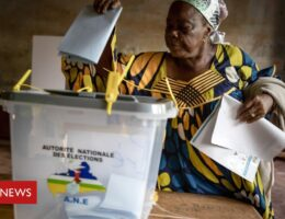 Central African Republic election held amid violence