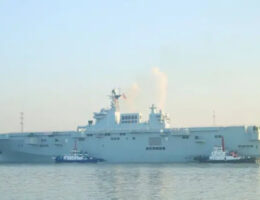 China's Second Amphibious Assault Ship Has Started Sea Trials