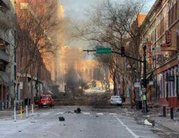 Christmas Day Explosion Rocks Downtown Nashville