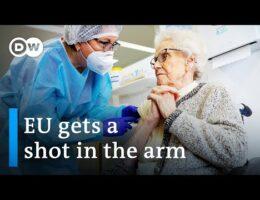 EU Begins Mass Covid-19 Vaccination Program