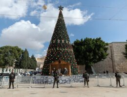 How much longer will the Middle East celebrate Christmas?