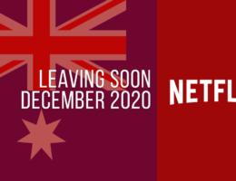 Movies & TV Series Leaving Netflix Australia in December 2020