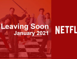 Movies & TV Series Leaving Netflix in January 2021