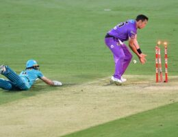 Mujeeb five-for in vain as Heat lose to Hurricanes in thriller