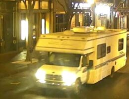 Nashville PD Releases Photo of RV That Exploded Christmas Morning, Asks the Public For Help