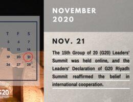 Yearender-Special Report: 2020 Calendar of the Middle East--Saudi Arabia
