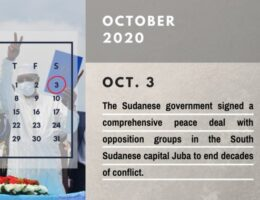 Yearender-Special Report: 2020 Calendar of the Middle East--Sudan