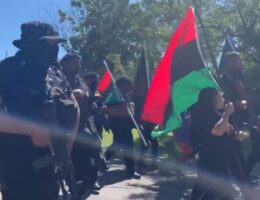"""""""Black Power!"""" – New Black Panther Party Stages Armed """"March For Reparations"""" in Tulsa, Oklahoma (VIDEO)"""