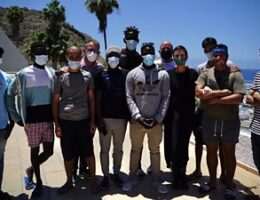 Canary Islands: 'Taking in migrants changed my life'