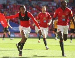 League Two play-off final: Morecambe 1-0 Newport County (AET) - Shrimps win promotion