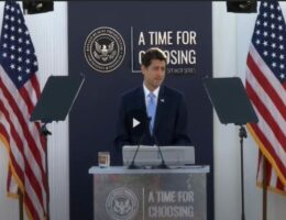 Paul Ryan Had Some Thoughts on the Future of the Republican Party—Did Anybody Stay Awake?