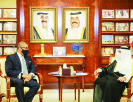 UK's Middle East Minister visits Kuwait