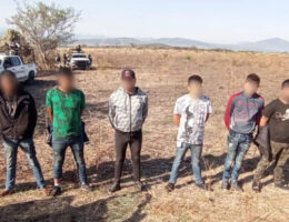 6 CJNG Members Arrested in Ixtlán, Michoacán
