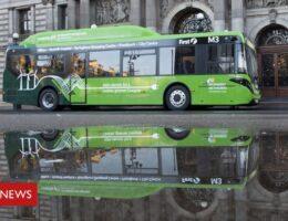 Bus depot bid to be UK's largest electric vehicle charging hub