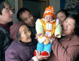 China's declining population and its new three-child policy