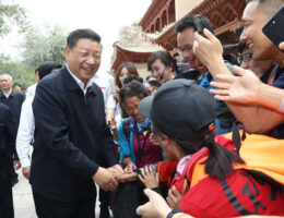 Chinese President Xi Jinping Wants To 'Make Friends' With The World
