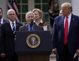 Donald Trump Compares Dr. Fauci and His Views to Science Fiction