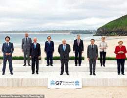 G7 Leaders Accept President Biden's Plan To Compete Against China