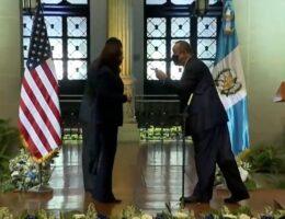 Guatemalan President Tells Kamala Harris to Put a Face Mask On (VIDEO)