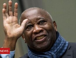Ivory Coast's ex-President Gbagbo returns home after ICC acquittal