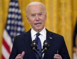 Joe Biden Lies His Head off About Manchin and Sinema