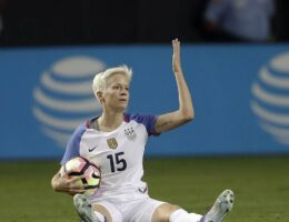 Megan Rapinoe Just Got Hoisted With Her Own Petard and a Ten-Year-Old Tweet