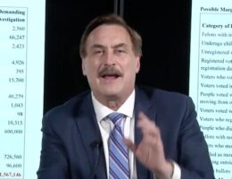 Mike Lindell Loses Law Firm Representation After New Suit Against Election Machine Companies