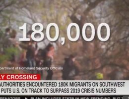 NEW: 180,000 Illegal Aliens Arrested at the Border in May – 674% Increase Over Last Year