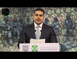 Omar García Harfuch Assures That CJNG Is Not Based in Mexico City