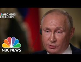 Russian President Putin Says Current U.S. - Russian Relations Have 'Deteriorated To Its Lowest Point' In Years