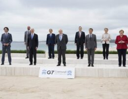 The Silliness at the G7: Elbow Bumping, Social Distancing and More 'Gender Neutral'
