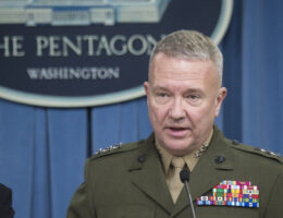 Top US general warns of Iran, China and Russia in Middle East