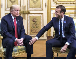Trump Strikes Back at Macron's Welcoming Biden to 'the Club'