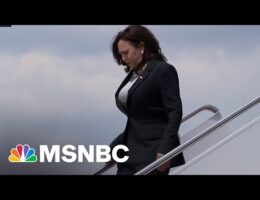 U.S. Vice-President Kamala Harris' Plane Forced To Turn Back Because Of A 'Technical Issue'