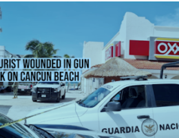 US Citizen Wounded and 2 Mexican Nationals Shot Dead at Cancun Beach
