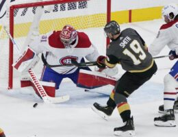 Vegas Golden Knights Take First Game Against Montreal Canadians In Stanley Cup Semi-Final Action