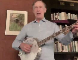 Watch: Hickenlooper Shills for Schumer's DOA 'Voting' Bill... With His Banjo