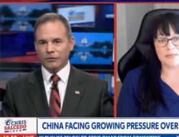 WATCH: Managing Editor Jennifer Van Laar Discusses Chinese Defector With Newsmax's Chris Salcedo