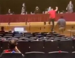 WATCH: Parents and School Board Members Get In Each Other's Faces Over CRT and Masks