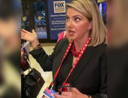 Americans at CPAC Are Removing Their Lanyards Because FOX News Is Listed As a Sponsor