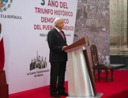 AMLO Declares Improved Security and That No New Cartels Have Formed Since He Joined Office in 2018